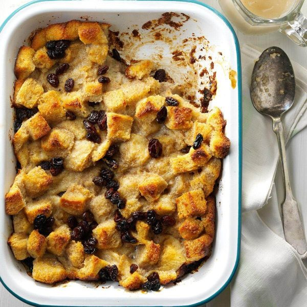 Butter and bread Pudding
